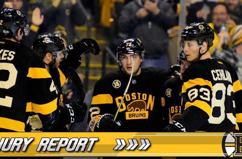 INJURY REPORT: Banged Up Bruins Suffer Another Devastating Injury