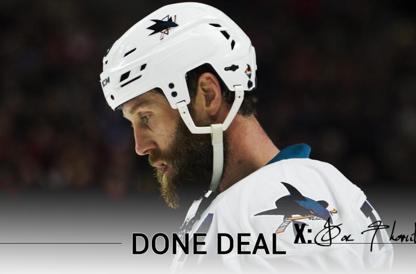 Breaking : Joe Thornton finalize new deal!
