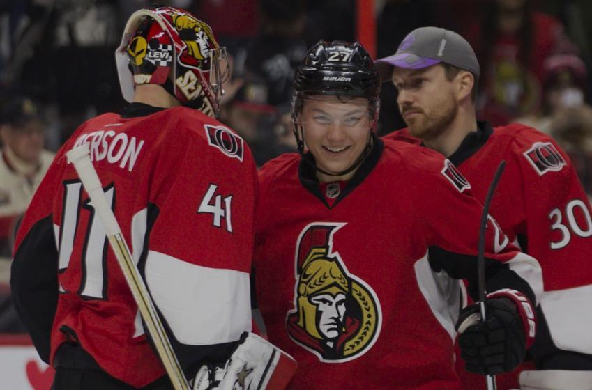 Ottawa Senators recall struggling first pick!