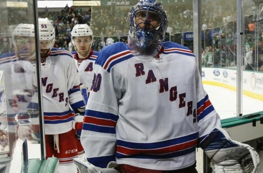 The Rangers get an update on injured goaltender Henrik Lundqvist.