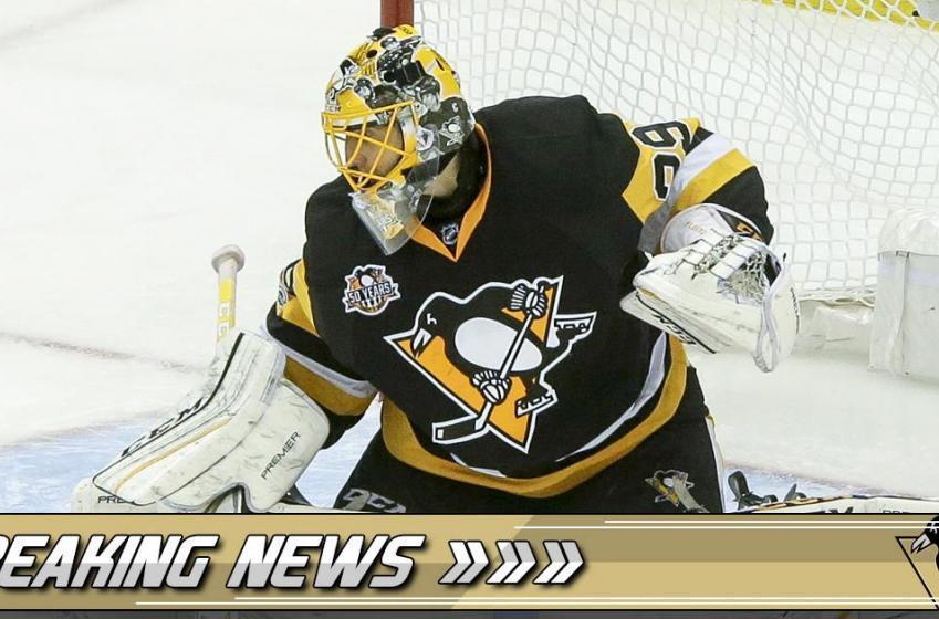 BREAKING: Penguins GM opens up on Fleury trade rumor