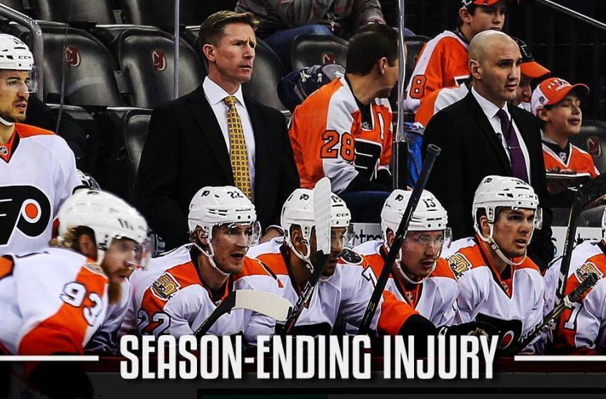 Breaking: Crucial Flyers' player suffers season-ending injury.