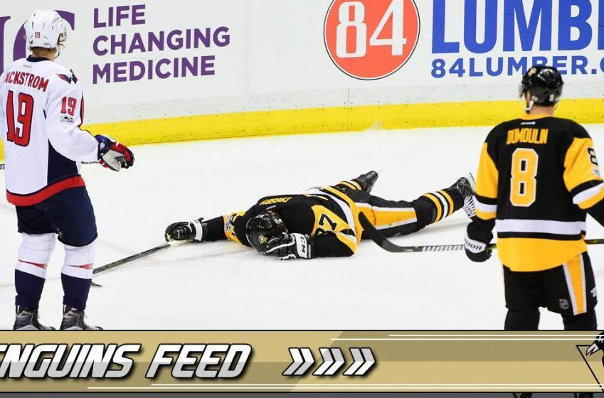 NHL GM reacts emotionally to Crosby's concussion.