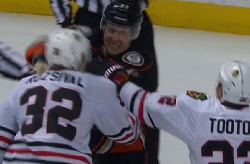 Breaking: NHL suspends forward for sucker punch.