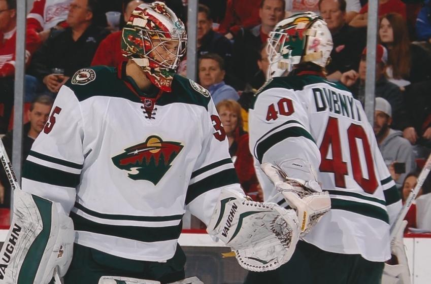 The Wild name their starting goaltender vs. Blackhawks.