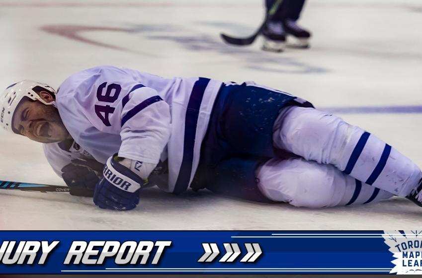 """Injury Report: """"I felt it crack."""" - Roman Polak"""