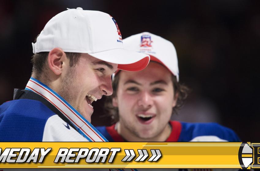 GAME DAY REPORT: Defensive pairings shuffled again.