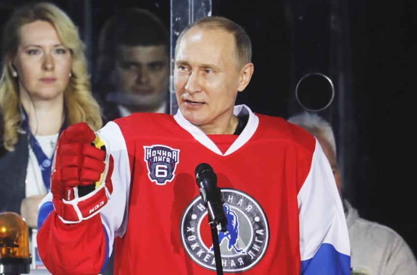 Report: Vladimir Putin working on shocking deal to poach NHL superstar player.