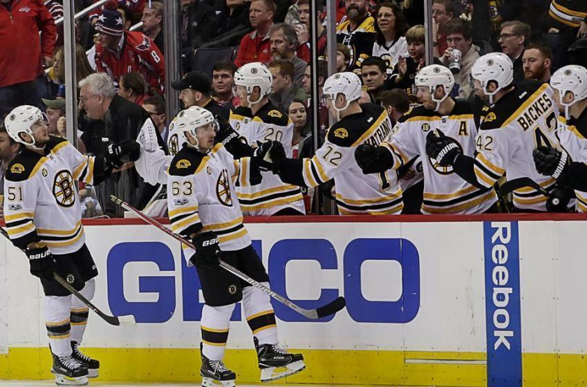 Yet another Bruins defenseman falls tonight.