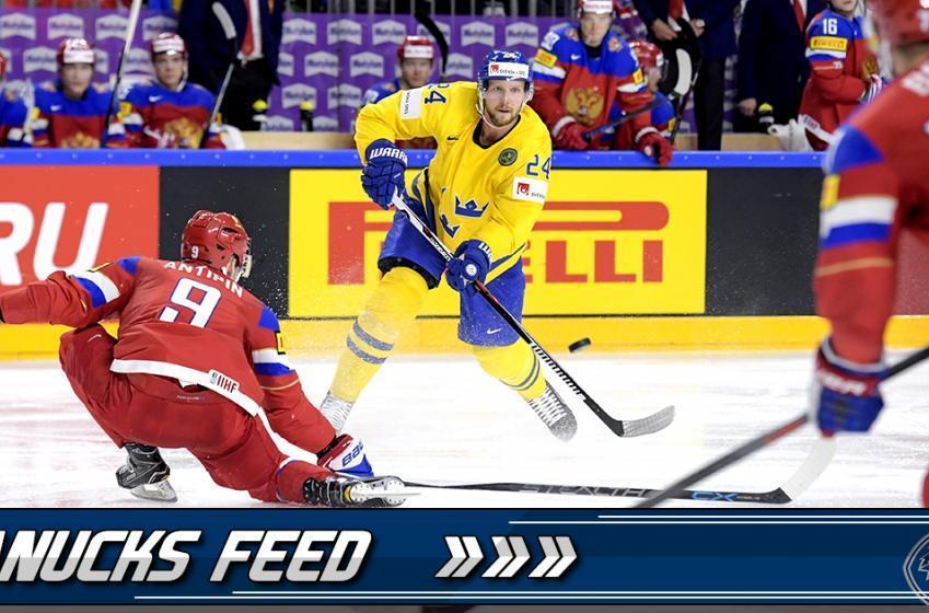 GOTTA SEE IT: Edler lays the BOOM in IIHF opener
