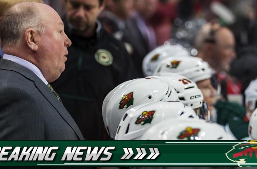 Breaking: Wild head coach Bruce Boudreau confirms the big rumor surrounding his team.