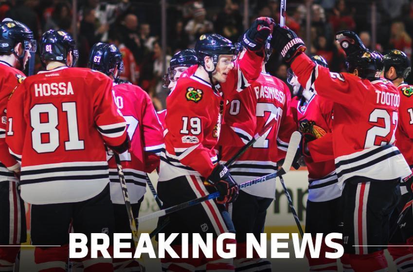 BREAKING: The Chicago Blackhawks have recalled a defenseman!