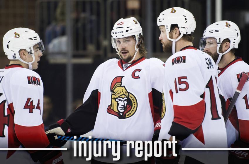 INJURY REPORT: Injured Senator will likely miss Game 5 in Ottawa