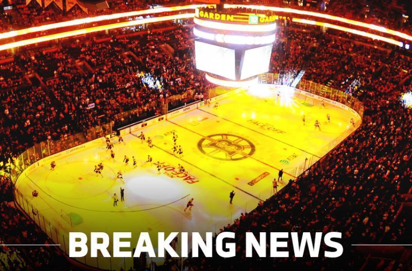 BREAKING: Boston Bruins recalled goaltender on an emergency basis.