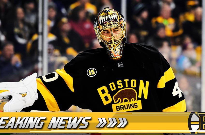 Breaking: Bruins' key forward injured in practice!