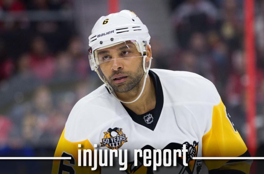 Injury Report: Update regarding Trevor Daley's condition.