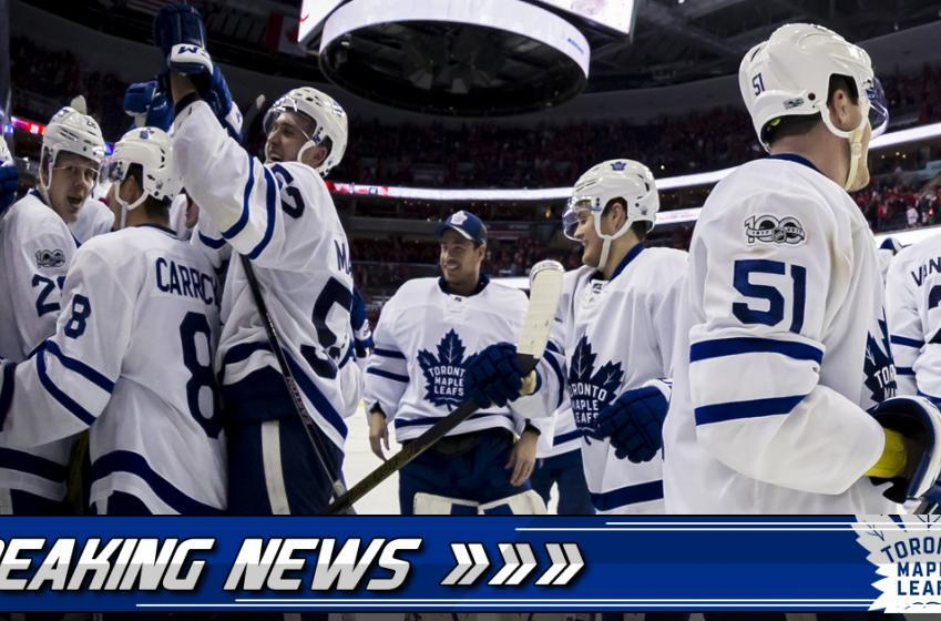 BREAKING: Maple Leafs sign 23-year-old two-way defenseman.