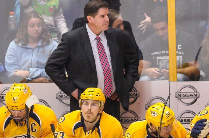 Breaking: Nashville Predators make a coaching change