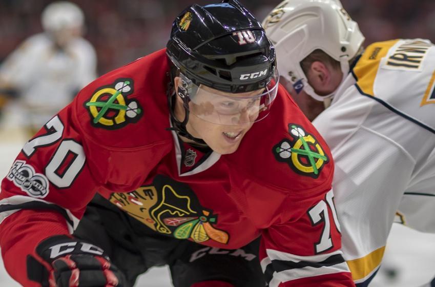 Ducks add former Blackhawks forward to their roster.