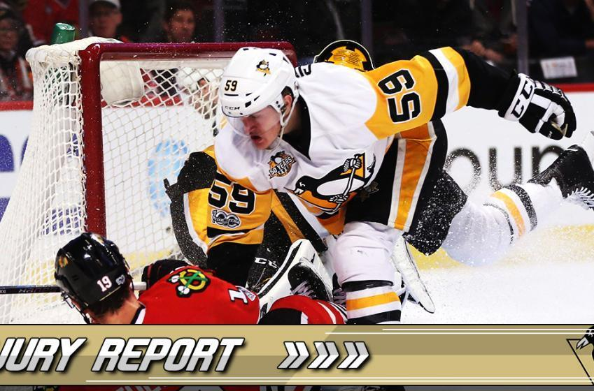 Injury Report: Injury shelves Pens Redhot Rookie