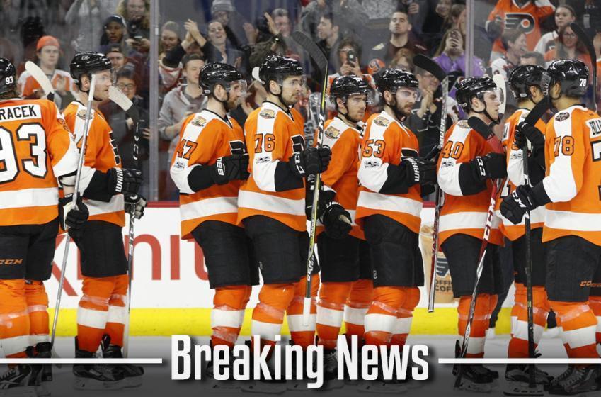 BREAKING: Philadelphia Flyers called up long awaited defenseman.