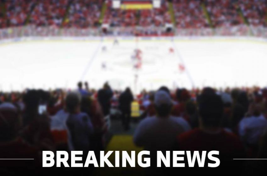 BREAKING NEWS: STAR defenseman left the practice earlier due to injury.