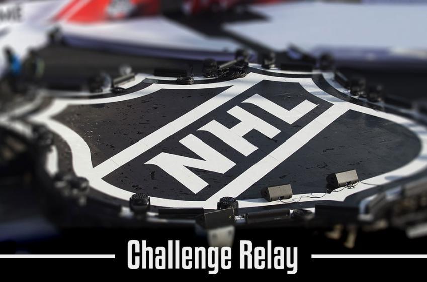 Must See: Gatorade NHL Skill challenge relay winner!