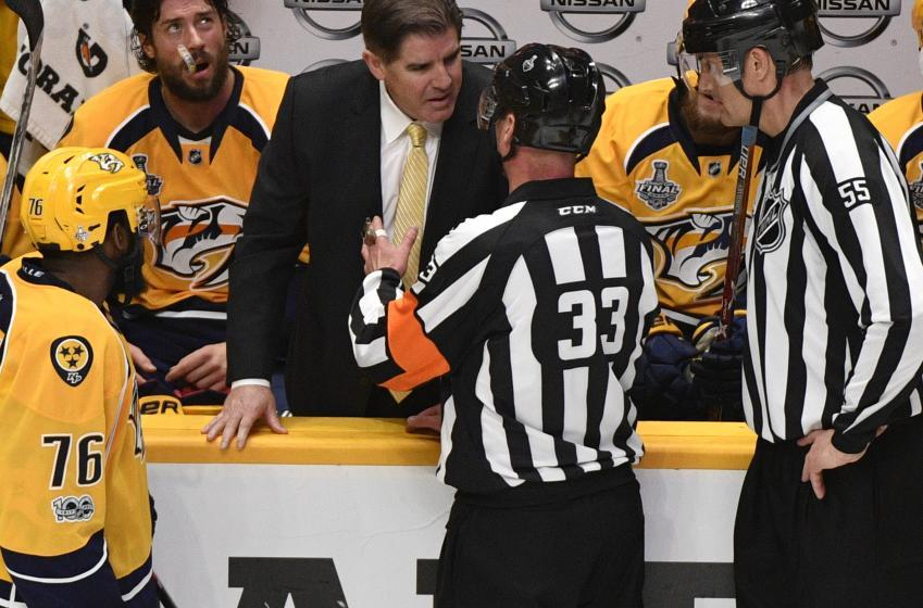 Report: Predators player believes he should be captain next season