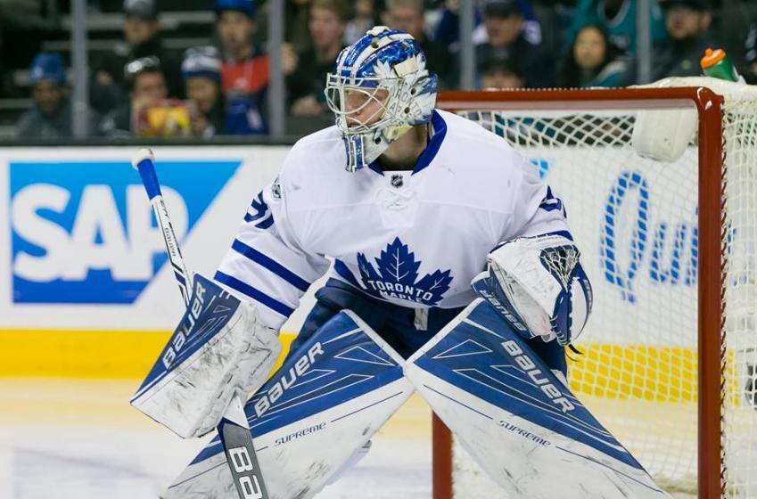 Maple Leafs recall goalie on an emergency basis.