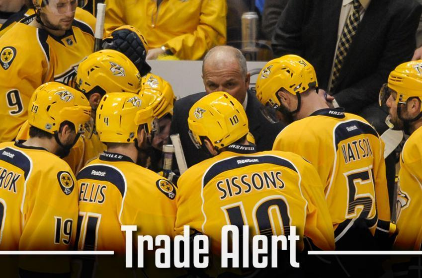 Trade Alert: Nashville Predators acquiring one of their former player!