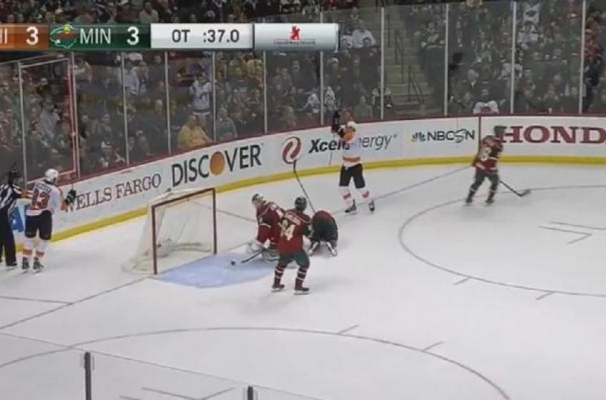 Flyers score beauty overtime goal!
