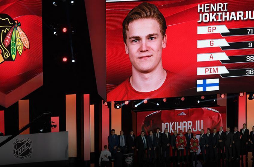 Highlight reel moves from 2017 first round pick Henri Jokiharju