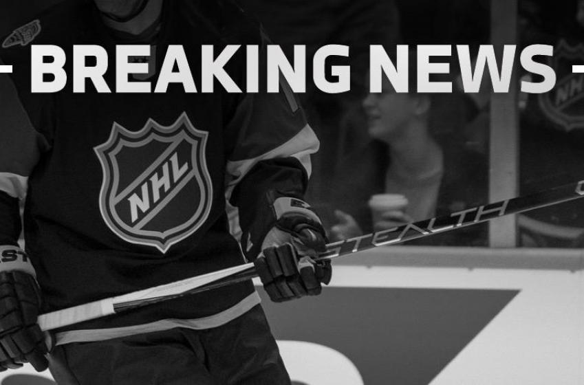 """Breaking: Young NHL """"crushed into an open bench door"""" during World Cup training!"""