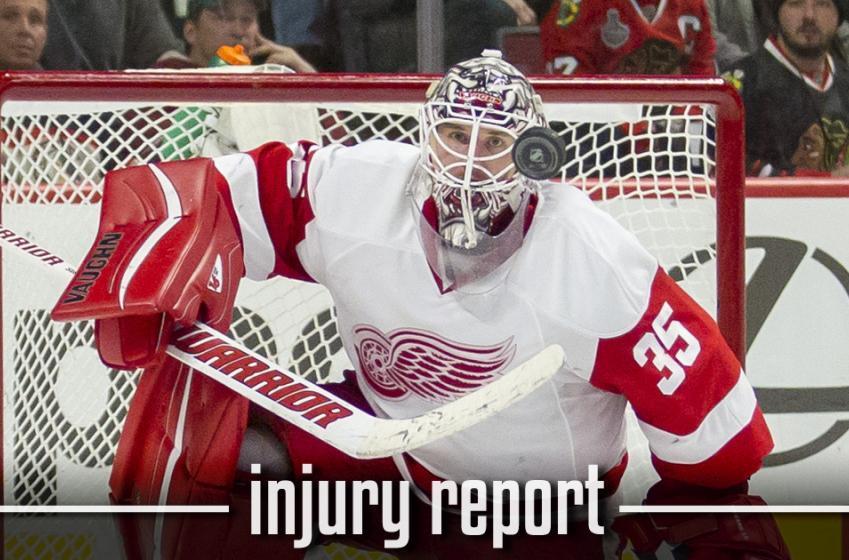 Injury Report : Major update on Jimmy Howard's injury