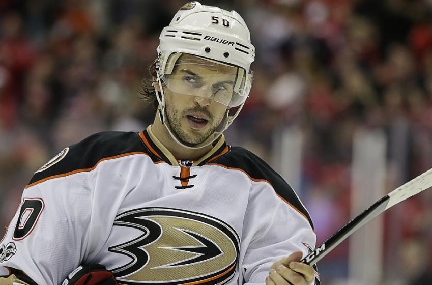 Breaking: Antoine Vermette gets double digit games for slashing NHL official.
