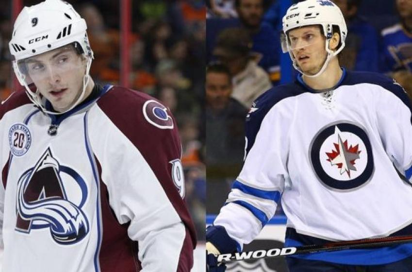 Rumored trade between Winnipeg and Colorado.