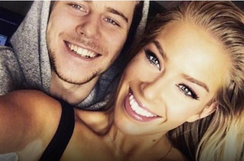 NHLer's new girlfriend posts revealing photo online.