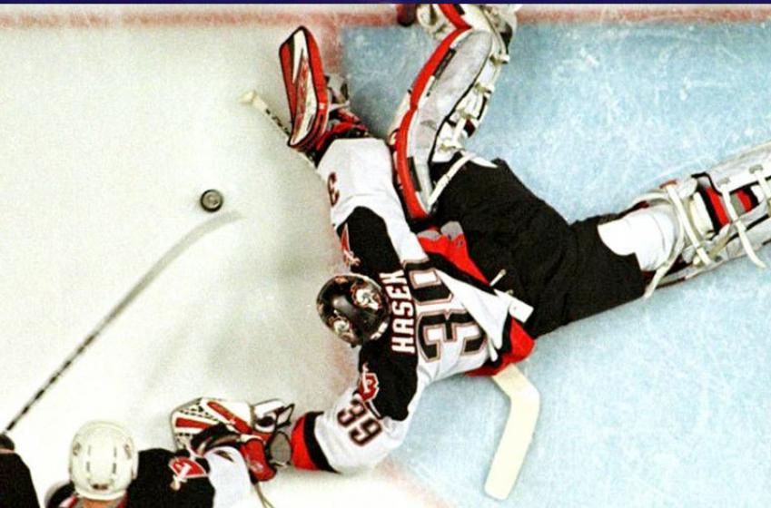 Hasek breaks down the 3 biggest saves of his career