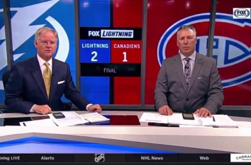 FOX Sports mistakenly announces Gary Bettman's death on the air!