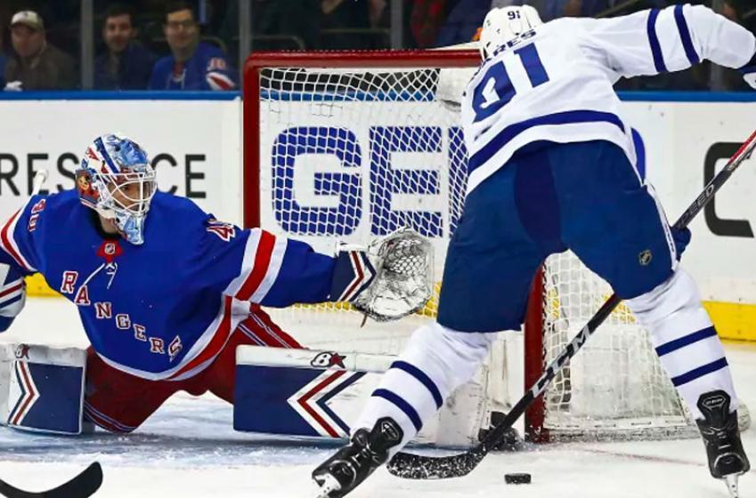 Leafs linked to Rangers goalie Georgiev in trade talks