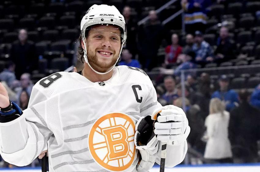 Cassidy chirps Pastrnak regarding Bruins captaincy