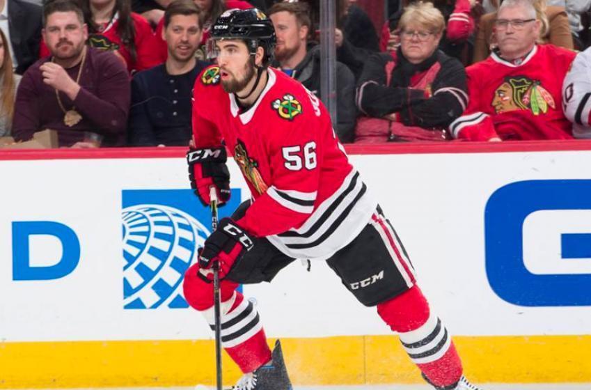 Blackhawks trade Gustafsson