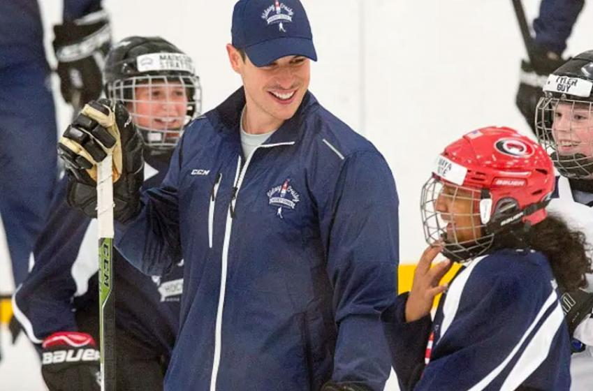 Sidney Crosby closes his hockey school