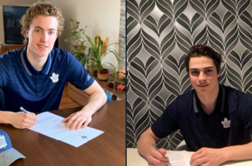 Leafs make two signings and push hard for KHL star Barabanov