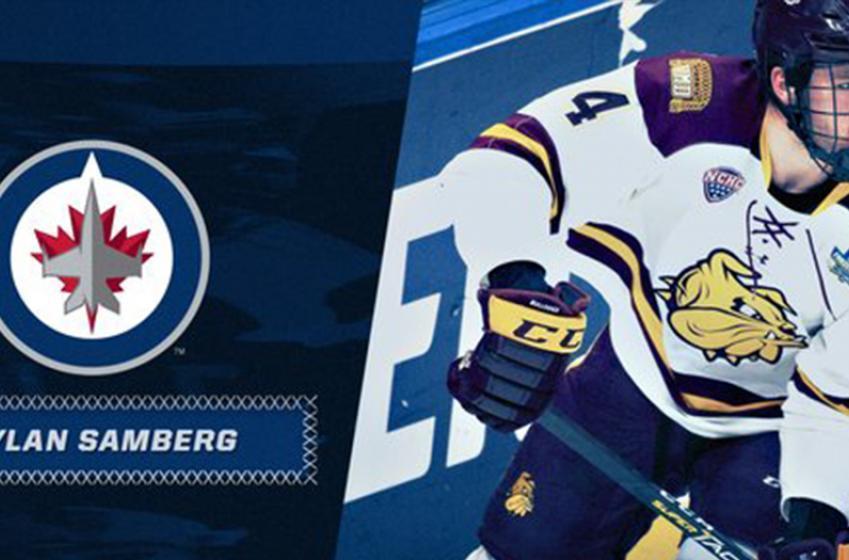 Jets sign top prospect Dylan Samberg