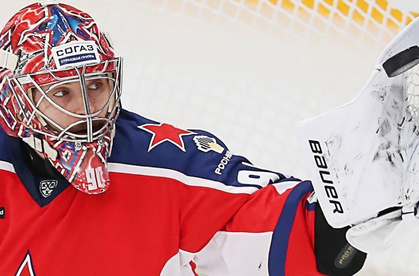 KHL star goaltender Ilya Sorokin is coming to the NHL.