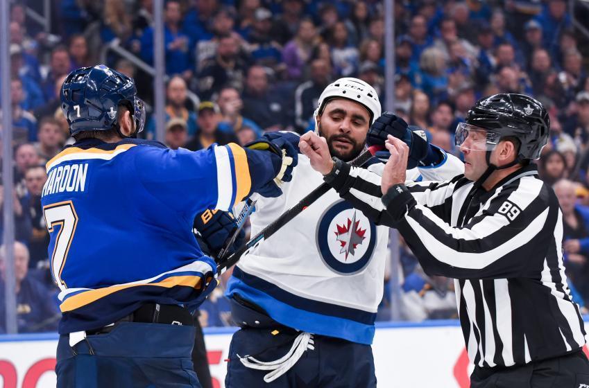 Dustin Byfuglien and Winnipeg Jets officially part ways