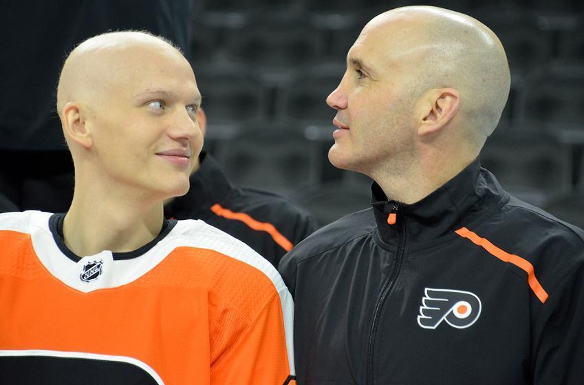 Flyers offer important update on Oskar Lindblom's cancer