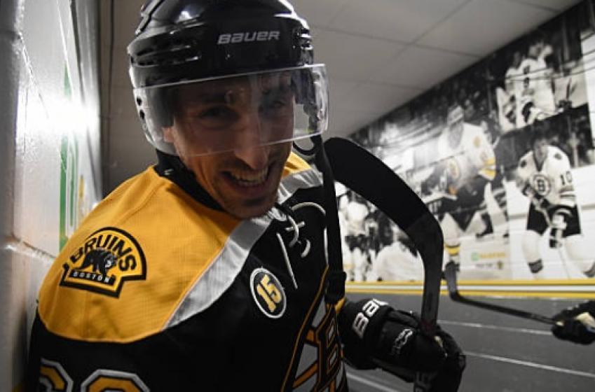 Brad Marchand shares best video of NHL shutdown!