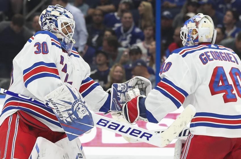 Proposed trade for New York Rangers goaltender Alexander Georgiev.